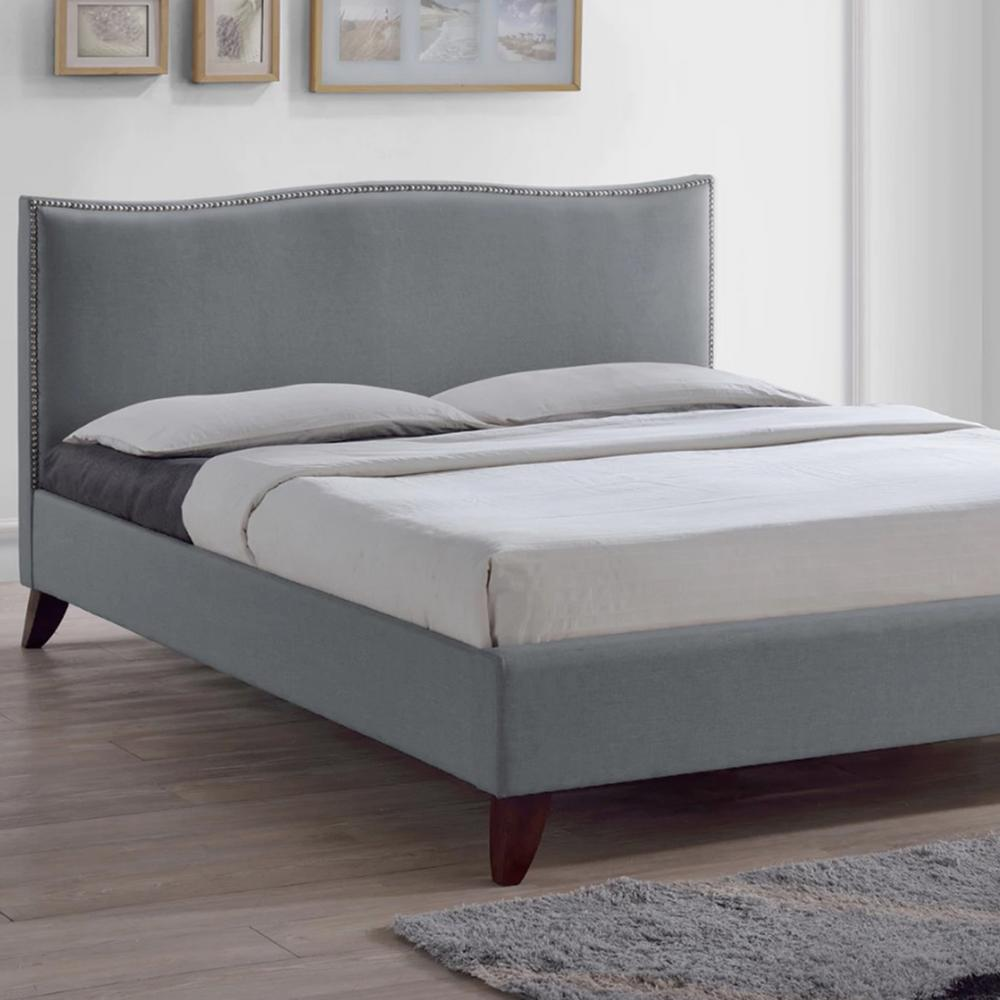 Eadaion Grey Queen Upholstered Bed