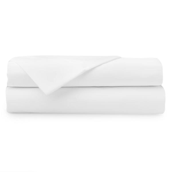 undefined 4-Piece White 1000 Thread Count Cotton Poly King Sheet Set