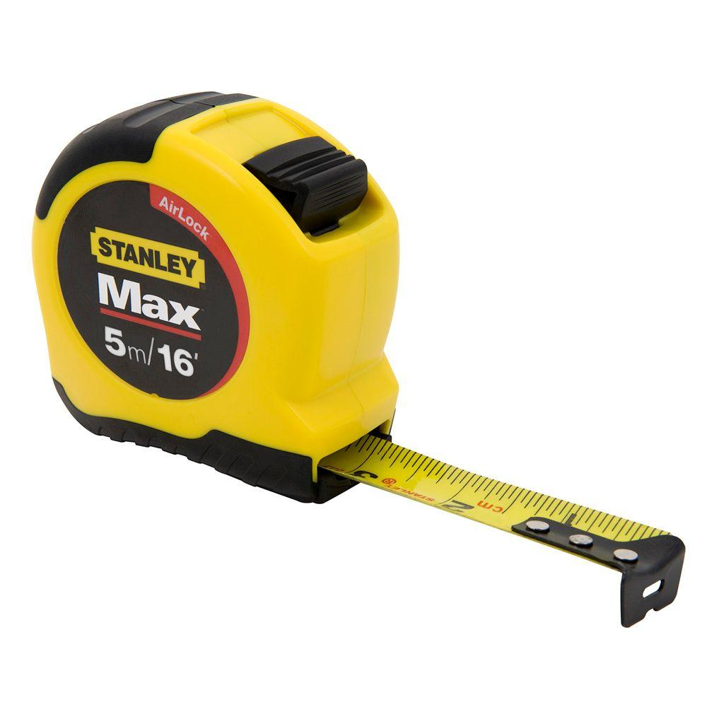 Stanley 5m/16 ft. x 3/4 in. MAX Tape Rule