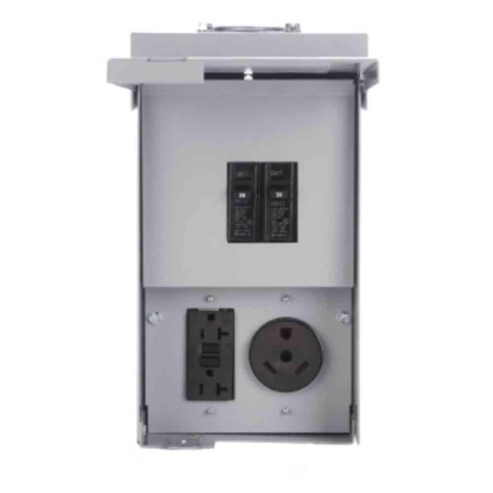 Eaton Power Outlet Panel - Un-Metered-CHU4N7NS - The Home Depot