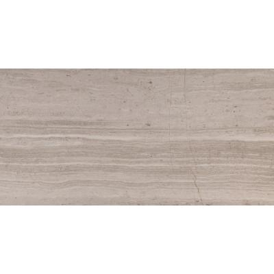 White Oak 12 in. x 24 in. Honed Floor and Wall Marble Tile (10 sq. ft. / case).