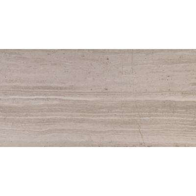 White Oak 12 in. x 24 in. Honed Marble Floor and Wall Tile (10 sq. ft. / case)