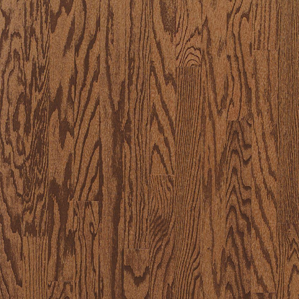 Bruce Woodstock Red Oak Engineered Click Hardwood Flooring - 5 in. x 7 in. Take Home Sample