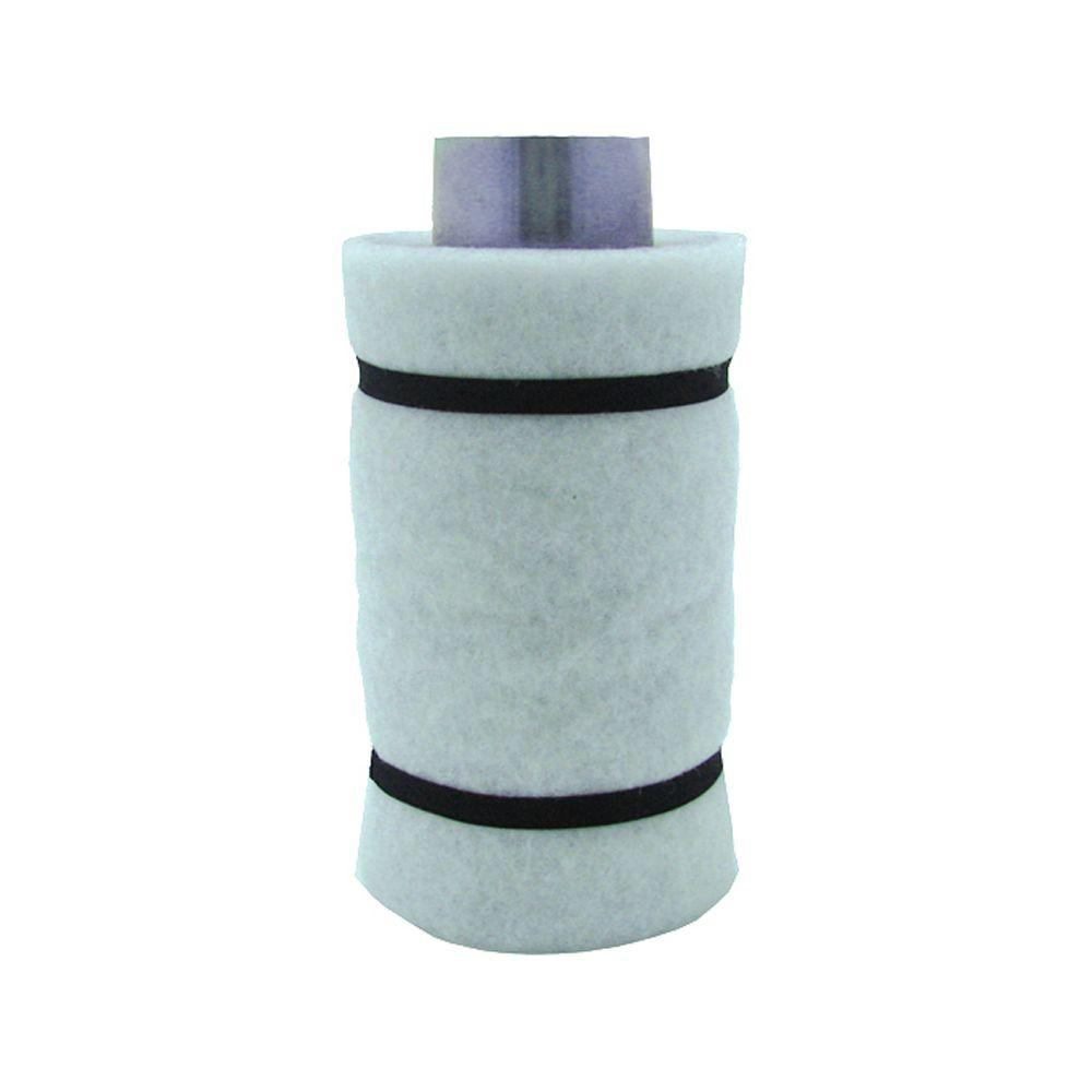 Viagrow 4 in. Carbon Air Filter 1 with Flange 22-45 CFM Exhaust