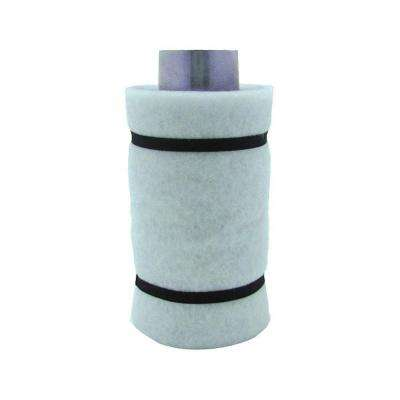 4 in. Carbon Air Filter 1 with Flange 22-45 CFM Exhaust