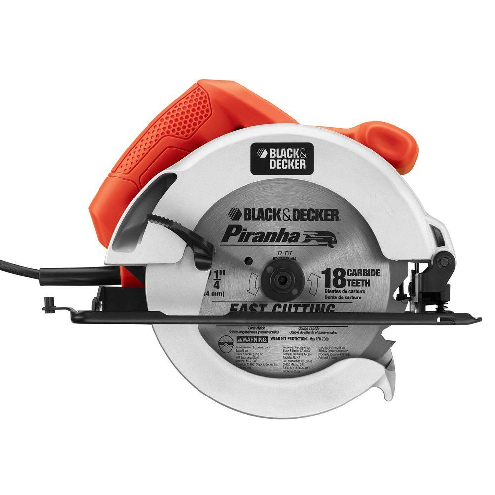 Blackdecker 12 amp 7 14 in circular saw cs1014 the home depot greentooth Choice Image