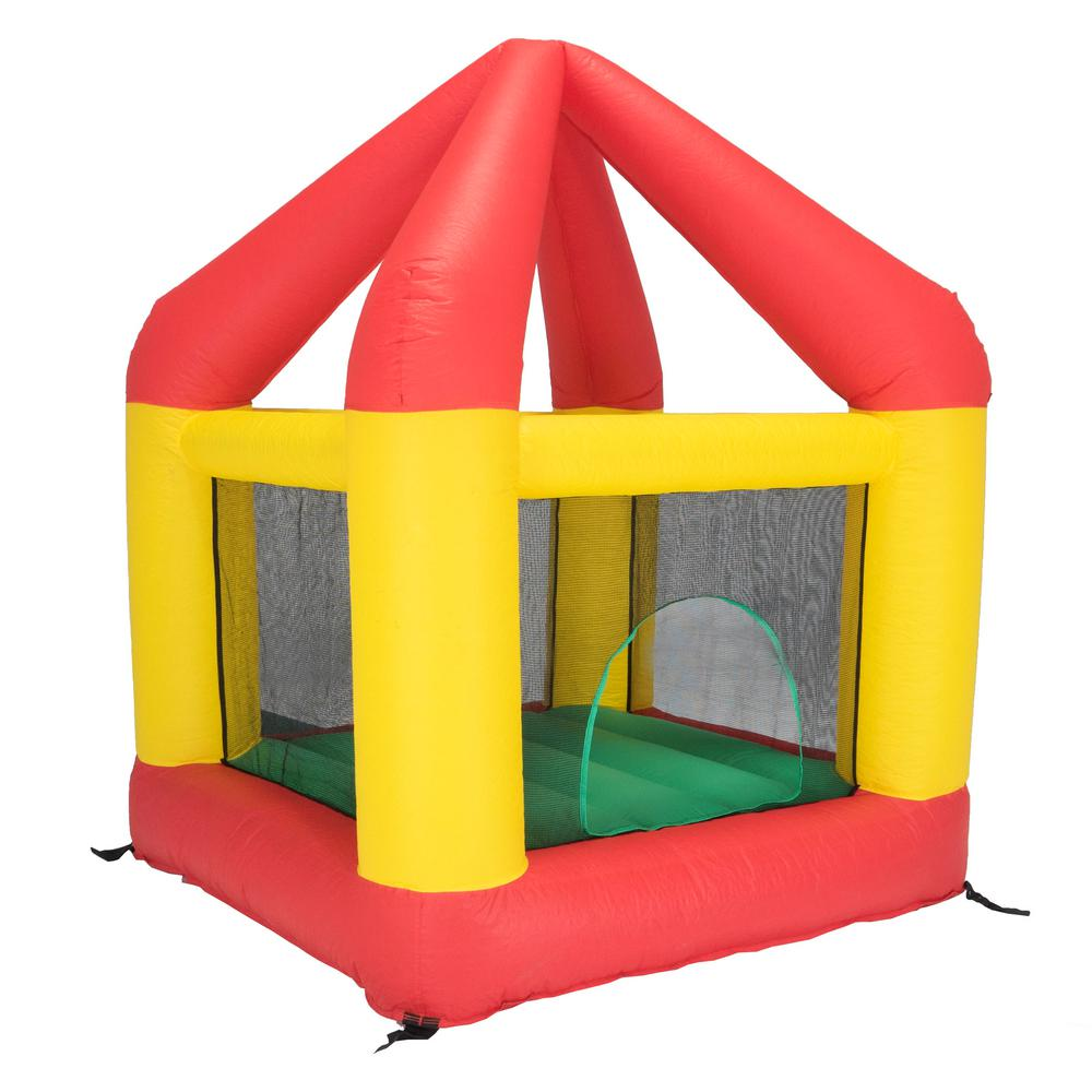 6.25 ft. x 6 ft. Bounce House with Open Roof (without