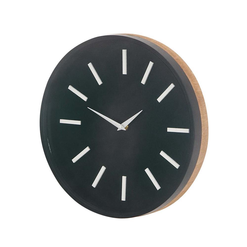 Black Modern Og Wall Clock
