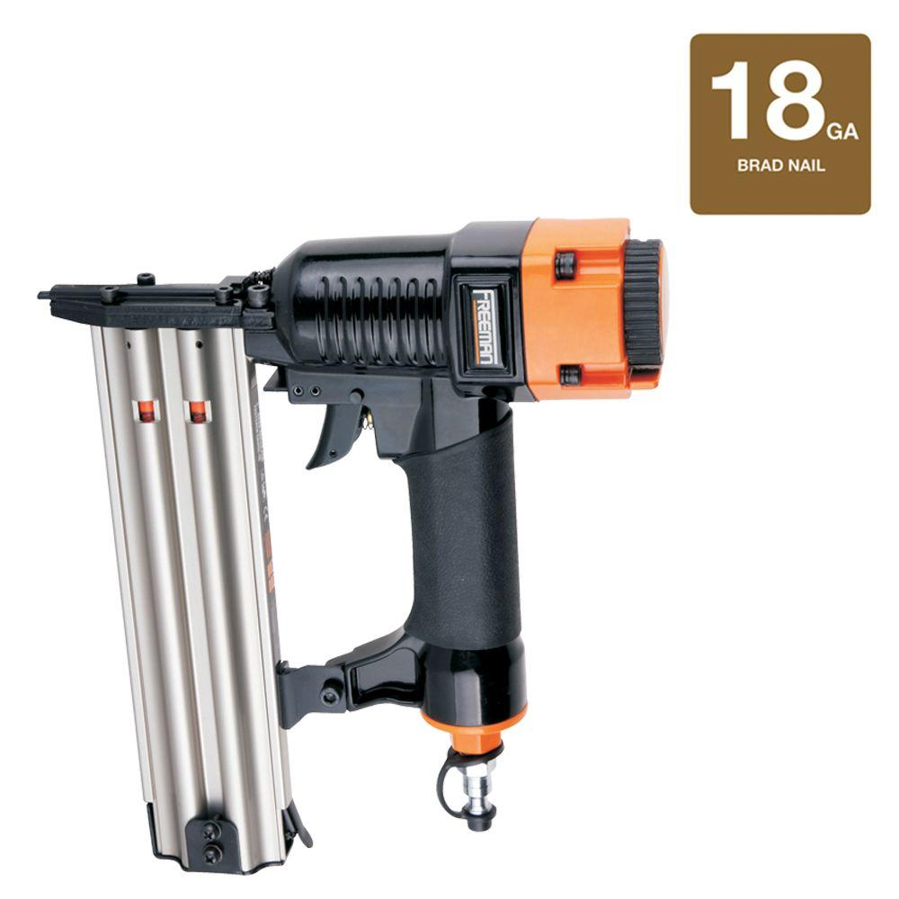 Freeman Reconditioned Pneumatic 18-Gauge Class A Strip Brad Nailer-DISCONTINUED
