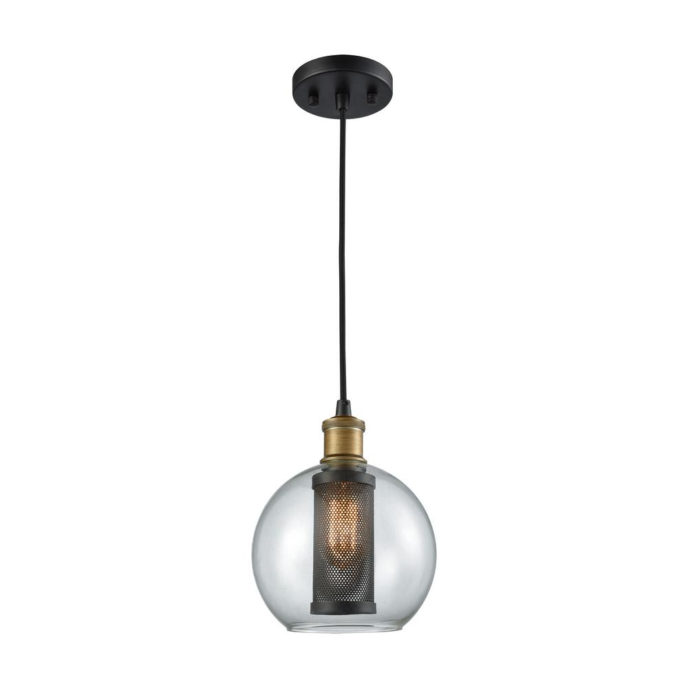 Titan Lighting Bremington 1-Light Oil Rubbed Bronze And