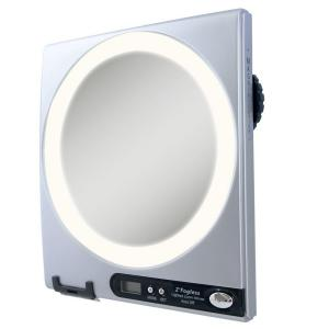 Zadro Fogless LED Lighted Shower Mirror in Silver by Zadro