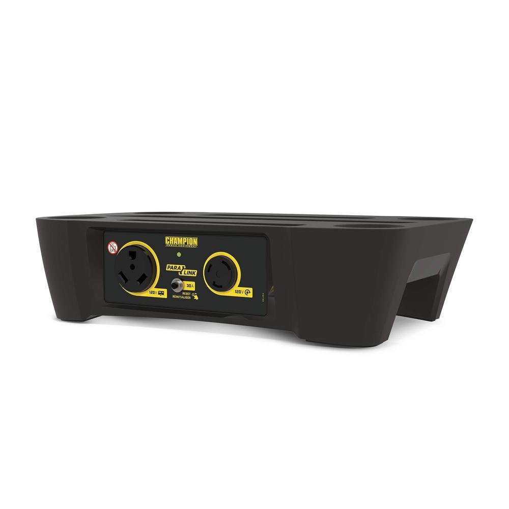 Champion 30 Amp RV Ready ParaLINK Parellel Kit for Linking 2 Stackable 2000-Watt Inverter Generators