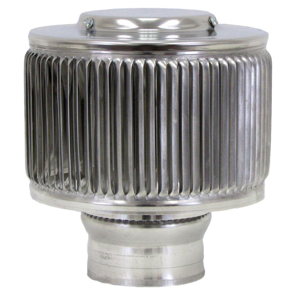 Aura PVC Vent Cap 3 in. Dia Exhaust Vent with Adapter