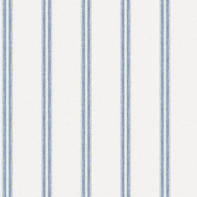 Johnny Navy Stripes Navy Paper Strippable Roll (Covers 56.4 sq. ft.)