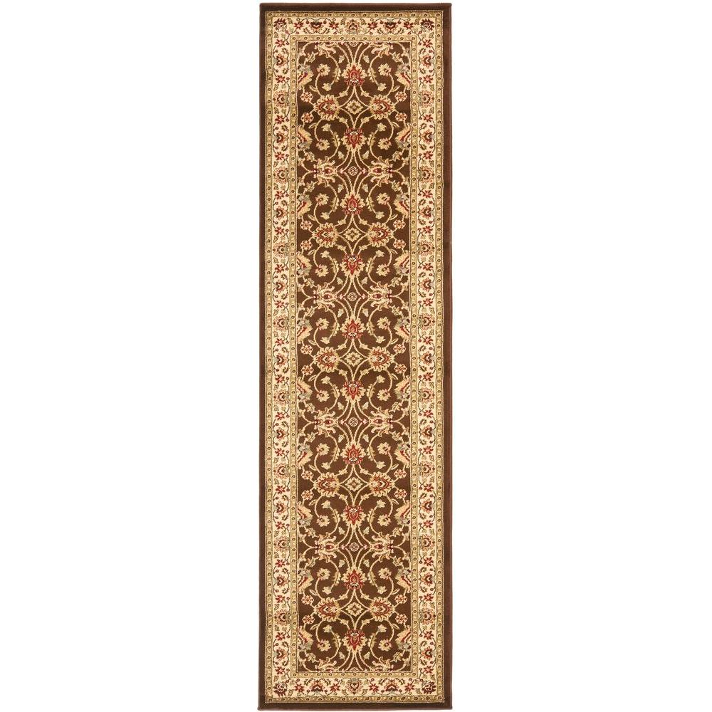 Lyndhurst Brown/Ivory 2 ft. 3 in. x 12 ft. Runner