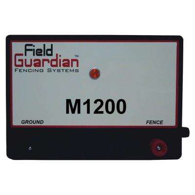 M1200 Fence Energizer System 12-Joule
