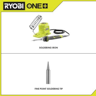 18-Volt ONE+ 40-Watt Soldering Iron (Tool-Only) with extra Fine Point Soldering Tip