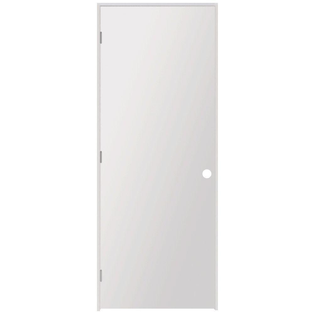 Steves Sons 36 In X 80 In Hardboard Flush Hollow Core Primed White Composite Single Prehung