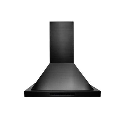 ZLINE 24 in.  Wall Mount Range Hood in Black Stainless Steel (BSKBN-24)