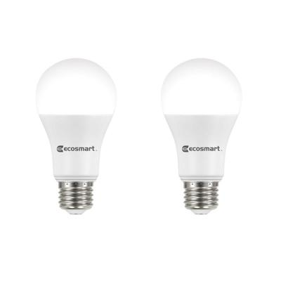 100-Watt Equivalent A19 Dimmable Energy Star LED Light Bulb Soft White (2-Pack)