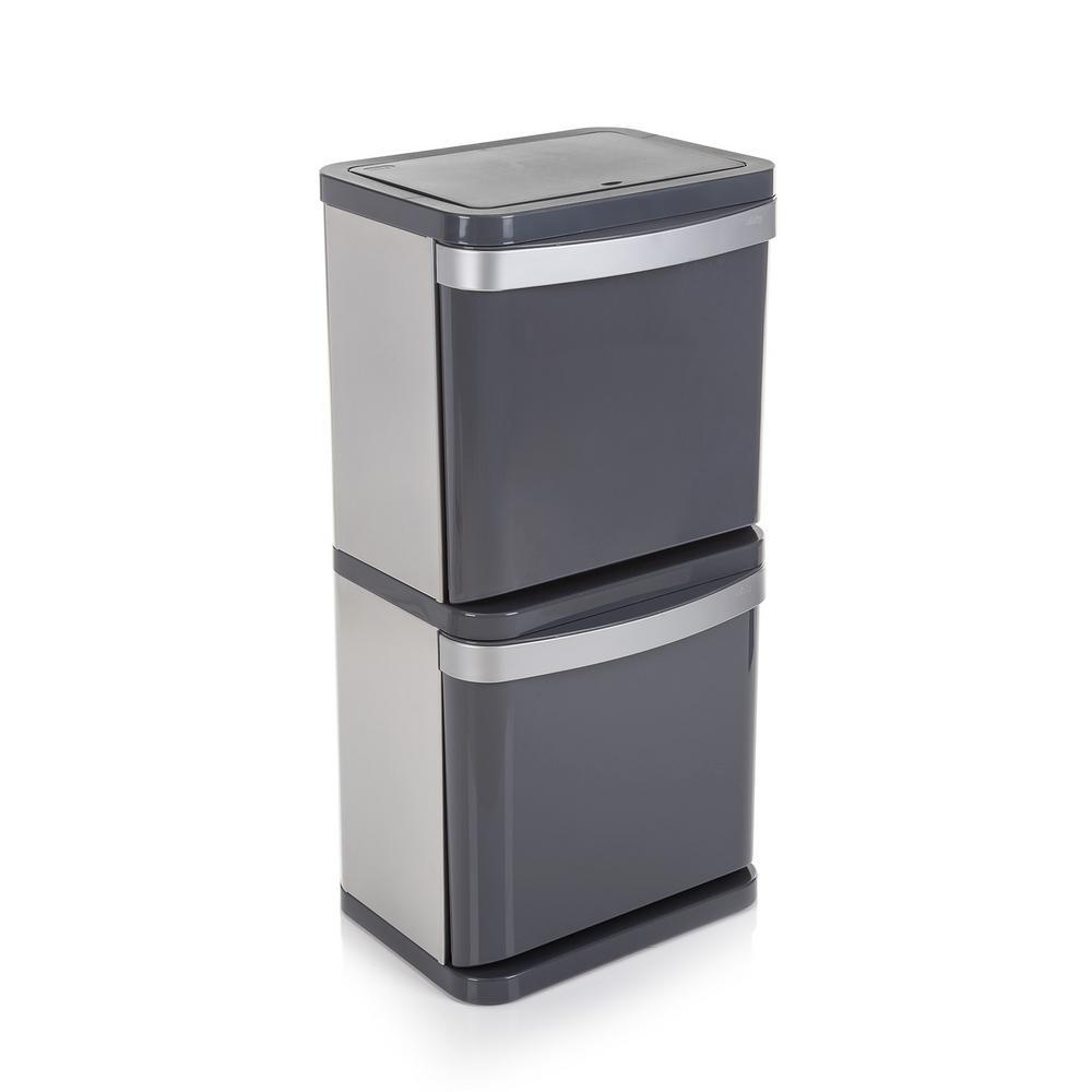 Minky 16 Gal. Sort3 Indoor Recycling Bin-TB10293100 - The