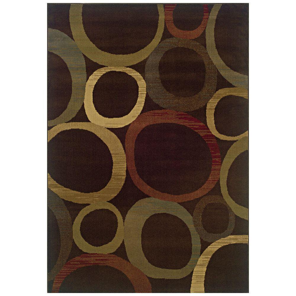 Oriental Weavers Kiawah Cooper Multi 3 ft. 2 in. x 5 ft. 5 in. Area Rug