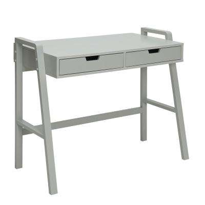 Charles London Grey Small Office Desk