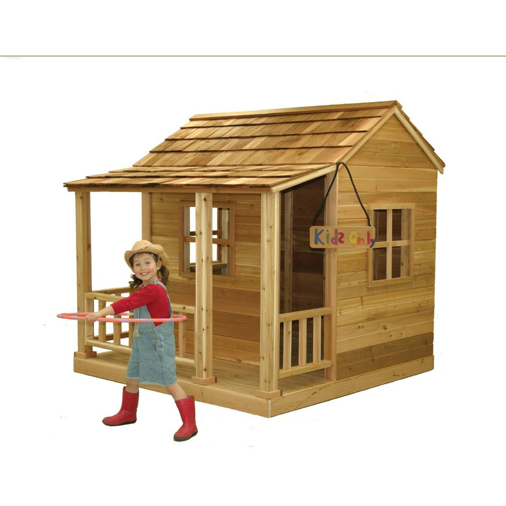 Outdoor Living Today - 6 ft. x 6 ft. Little Squirt Playhouse