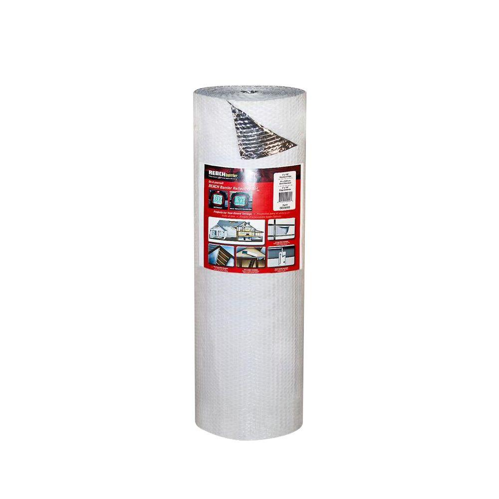 Reach Barrier 2 ft. x 100 ft. Single Reflective Insulation Roll with Single Air