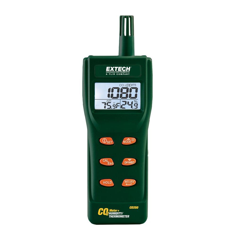 Extech Portable Indoor Air Quality CO2 Meter/Datalogger