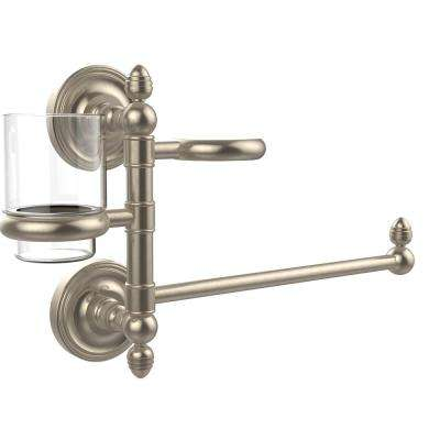 Prestige Regal Collection Hair Dryer Holder and Organizer in Antique Pewter