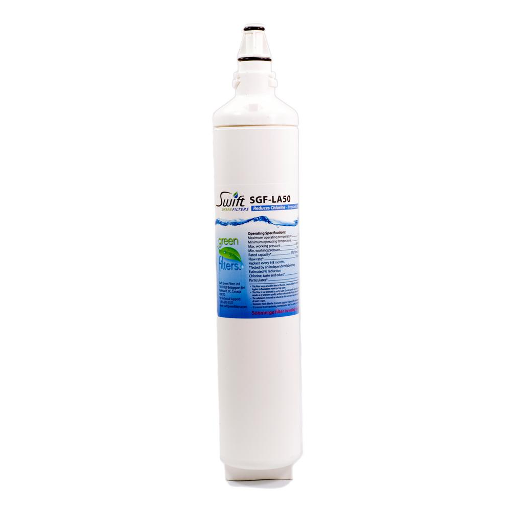 LG 5231JA2006A and 5231JA2006B Compatible Refrigerator Water Filter from Aquarius
