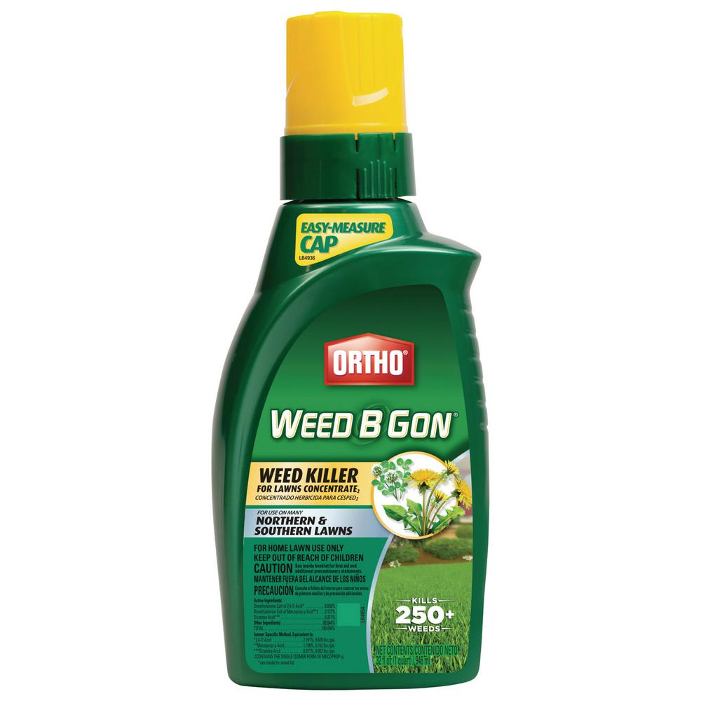 Ortho Weed B Gon 32 oz. Weed Killer for Lawns Concentrate2