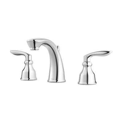 Avalon 8 in. Widespread 2-Handle Bathroom Faucet in Polished Chrome