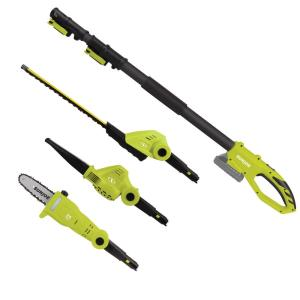 Sun Joe 24-Volt Cordless Lawn Care System Hedge Trimmer, Pole Saw, Leaf Blower by Sun Joe