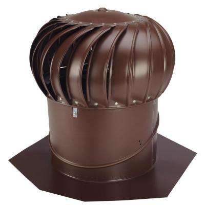 14 in. Brown Aluminum Internally Braced Wind Turbine