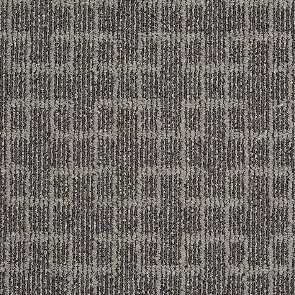 Quilted Dreams - Color Deer Field Pattern 12 ft. Carpet