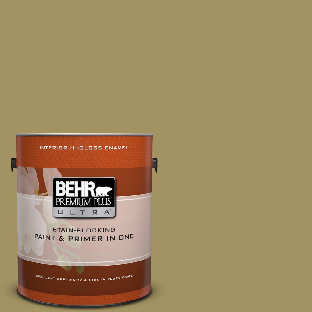 1 gal. #M330-6 Keemun Hi-Gloss Enamel Interior Paint