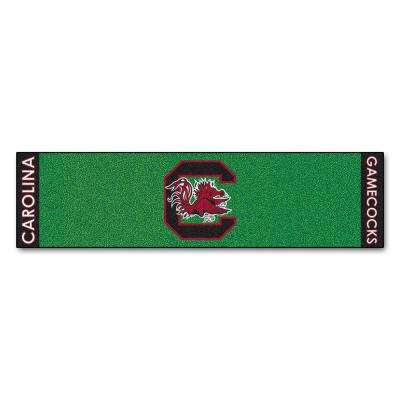 NCAA University of South Carolina 1 ft. 6 in. x 6 ft. Indoor 1-Hole Golf Practice Putting Green