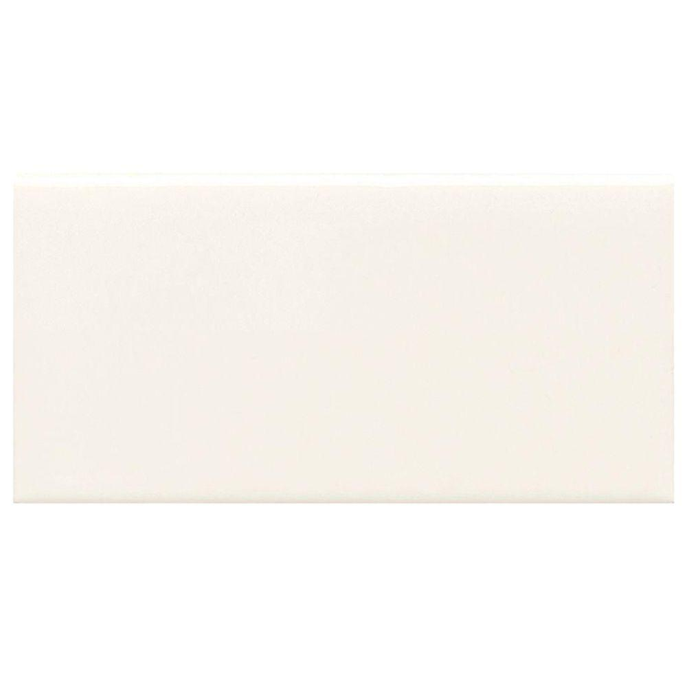 Rittenhouse Square White 3 in. x 6 in. Modular Ceramic Wall