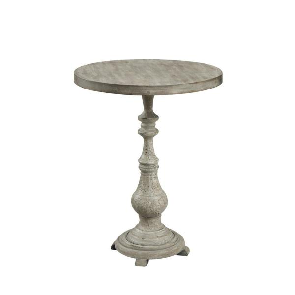 Convenience Concepts Wyoming China Fir Antique Wood Spindle Accent Table U10-124