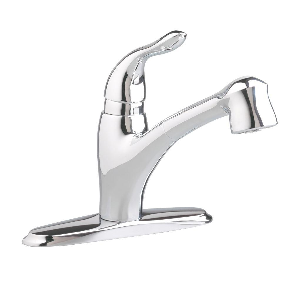 American Standard Lakeland Single-Handle Pull-Out Sprayer Kitchen Faucet in Polished Chrome