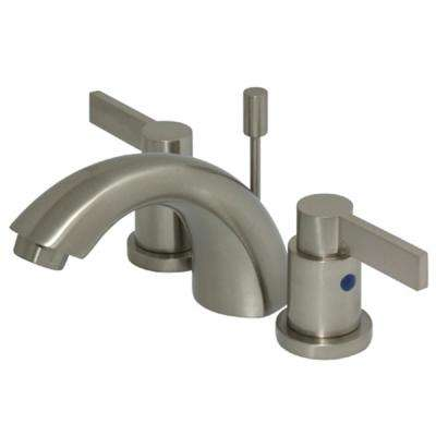 Everett 4 in. Minispread 2-Handle Bathroom Faucet in Satin Nickel