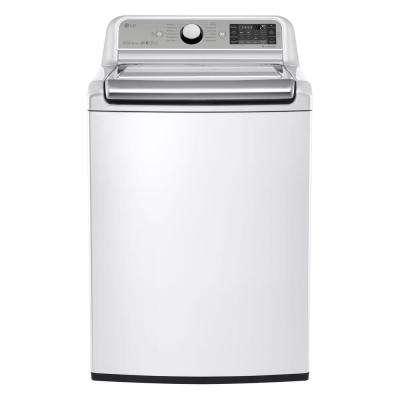 5.2 cu. ft. High Efficiency Top Load Washer in White with Turbo Wash, ENERGY STAR