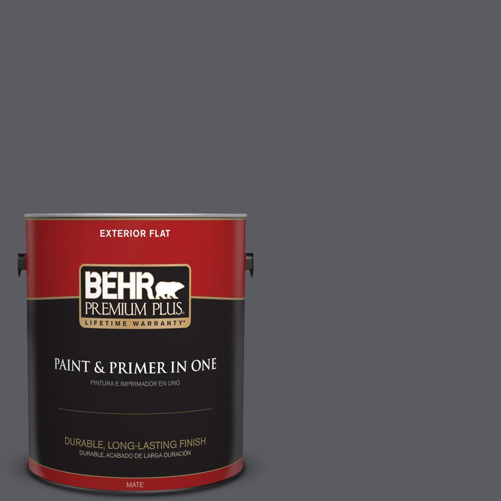 1 gal. #PPU18-02 Pencil Point Flat Exterior Paint