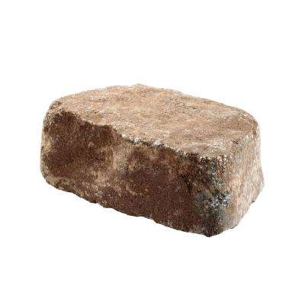 Beltis 4 in. x 11 in. x 6 in. Oak Run Concrete Retaining Wall Block Pallet (140-Pieces/Pallet)