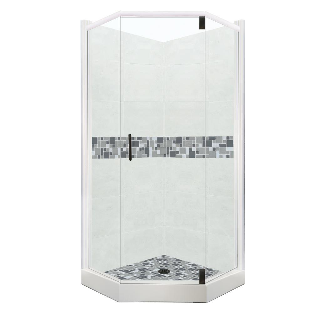 neo angle corner shower kits. Newport  Neo angle Shower Stalls Kits Showers The Home Depot