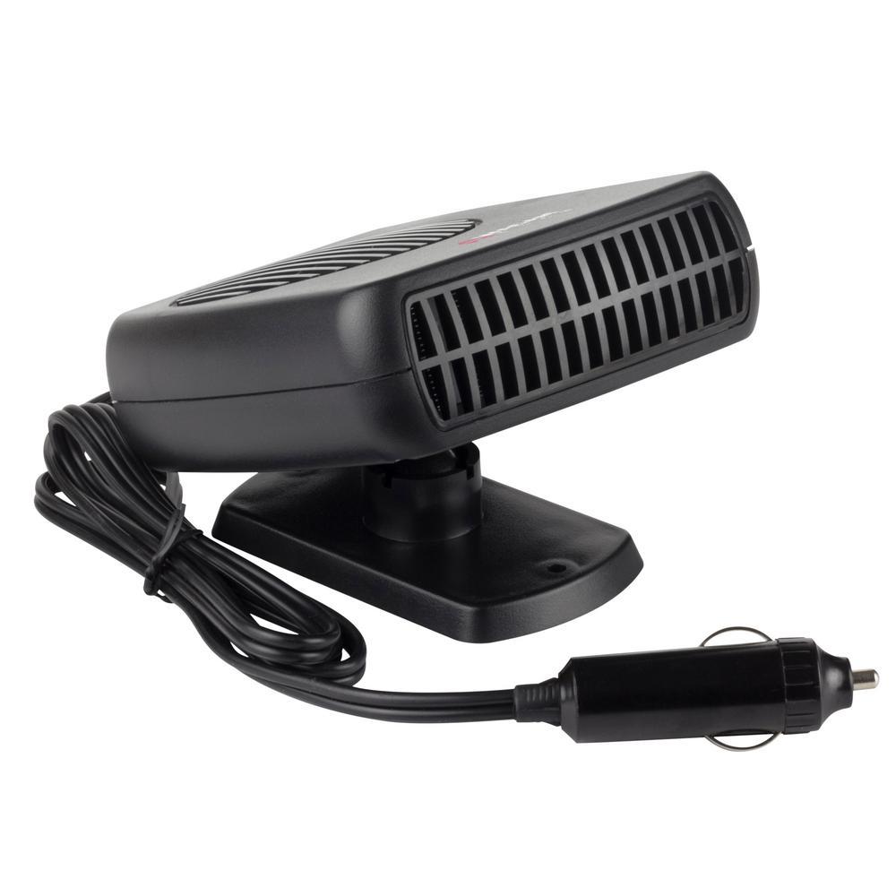 SONYANG Upgrade Car Heater 12V Car Windshield Defogger Defroster 12 Volt 150W Plug in Auto Heater Fan Fast Heating Demister Gray