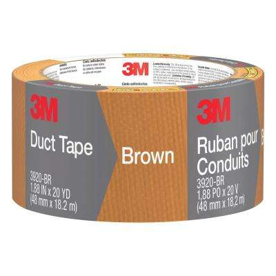 1.88 in. x 20 yds. Brown Duct Tape (Case of 12)