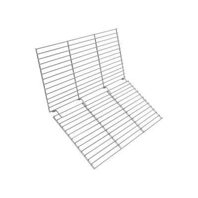24 in. Square Folding Chrome-Plated Cooking Grate